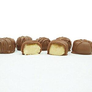フィラデルフィアキャンディーズ自家製バタークリーム、ミルクチョコレート1ポンドギフトボックス Philadelphia Candies Homemade Butter Creams, Milk Chocolate 1 Pound Gift Box