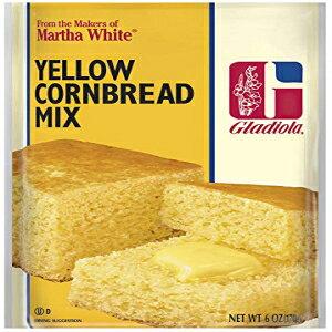 グラディオラコーンブレッドミックスホワイト、6オンス Gladiola Cornbread Mix White, 6 oz