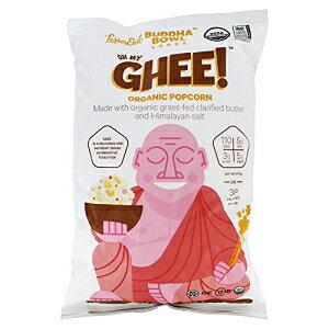 Lesserevil Healthy Brands Buddha Bowl Oh My Ghee、バター、0.88オンス(12パック) Lesserevil Healthy Brands Buddha Bowl Oh My Ghee, Butter, 0.88 Ounce (Pack of 12)