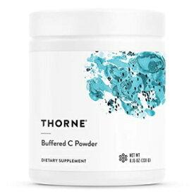 Thorne Research - Buffered C Powder - Vitamin C (Ascorbic Acid) with Calcium, Magnesium, and Potassium - 8.15 oz