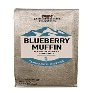 ブルーベリーマフィン風味の挽いたコーヒー Paramount Roasters Blueberry Muffin Flavored Ground Coffee