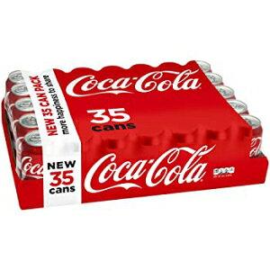 コカ・コーラドリンク缶、12 fl。オンス (35個パック) Coca-Cola Drink Cans, 12 fl. oz. (Pack of 35)