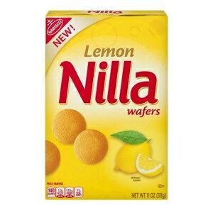 ニラレモンウエハースクッキー、11オンス Nilla Lemon Wafer Cookies, 11 oz