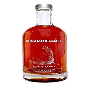 Runamok Maple、シュガーメーカーズカット、オーガニックバーモントメープルシロップ、グレードA、アンバーカラー、リッチテイスト、25.36オンス、750mL Runamok Maple, Sugarmaker's Cut, Organic Vermont Maple
