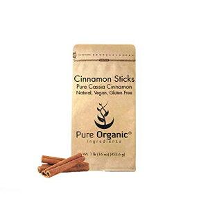 シナモンスティック(1 lb)ピュアオーガニック成分、オールナチュラル、クッキング/ベーキング、クラフト、フレーバーインフュージョン、アロマセラピー、抗炎症特性、血糖値低下 Cinnamo