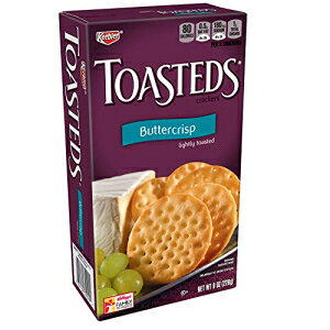 キーブラー、トースト、クラッカー、バタークリスプ、8オンス Keebler, Toasteds, Crackers, Buttercrisp, 8 oz