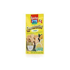 Loacker Quadratiniプレミアムレモンウエハースクッキー、250g / 8.82oz Loacker Quadratini Premium Lemon Wafer Cookies, 250g/8.82oz