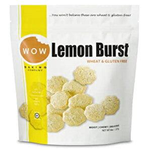 WOW Baking Companyグルテンフリークッキー、レモンバースト、8オンス WOW Baking Company Gluten Free Cookies, Lemon Burst, 8 oz
