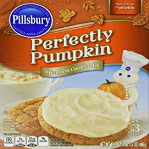 ピルズベリーパーフェクトパンプキンプレミアムクッキーミックス、17.5オンス。 Pillsbury Perfectly Pumpkin Premium Cookie Mix, 17.5 oz.