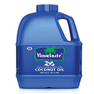 パラシュートココナッツオイル63fl.oz. (1863ml)-100%Pure、未精製、エクスペラープレス Parachute Coconut Oil 63 fl.oz. (1863ml) - 100% Pure, Unrefined, Expeller Pressed