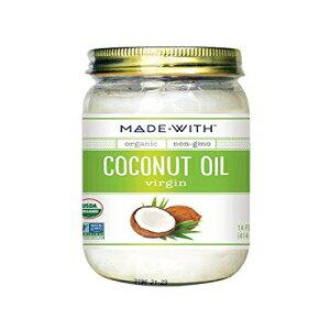 有機ココナッツオイルバージン、14オンス(6パック)で作られました MadeWith Made With Organic Coconut Oil Virgin, 14 Oz (Pack of 6)