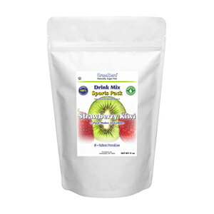 GramZero LGストロベリーキウイドリンクミックス、5/2ガロン収量(160〜8オンスのサービング)、ステビア甘味料、シュガーフリー GramZero LG Strawberry Kiwi Drink Mix, 5/2 GALLON Yield (160 - 8 oz servings), Stevi