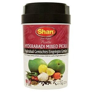 シャンハイデラバーディミックスピクルス-1Kg(2.2 Lb) Shan Hyderabadi Mixed Pickle - 1 Kg (2.2 Lb)
