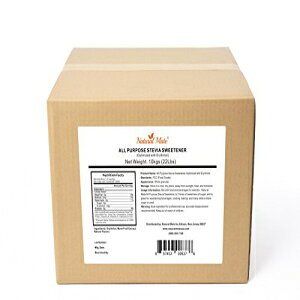 エリスリトールで最適化されたナチュラルメイトステビア万能天然甘味料| 2x砂糖の甘さ(正味重量10kgs / 22Lbs / 352oz) Natural Mate Stevia All Purpose Natural Sweetener Optimized with Erythritol|2x Sugar Sweetness (Ne