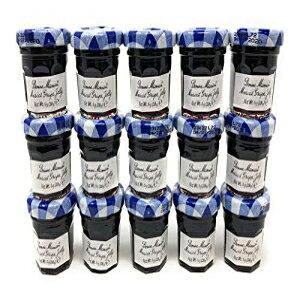 ボンネママングレープジャムプリザーブ-60個x1オンス-ゼリーミニジャー Bonne Maman Grape Jam Preserves - 60 pcs x 1 oz - Jelly Mini Jars