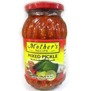 マザーズレシピミックスピクルス-17.64oz。、500g。 Mother's Recipe Mothers Recipe Mixed Pickle - 17.64oz., 500g.