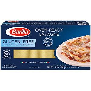 バリラグルテンフリーパスタ、オーブン対応ラザニア、10オンス(12パック)。 Barilla Gluten Free Pasta, Oven-Ready Lasagne, 10 Ounce (Pack of 12).