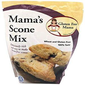 グルテンフリーママ:スコーンミックス-ざらざらしていない滑らかな-認定グルテンフリー成分-万能-セリアック病の食事療法に安全-保管が簡単 Gluten Free Mama's: Scone Mix - Non-Gritty and Smooth - Cer