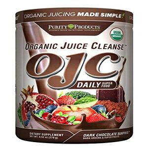 認定オーガニックジュースクレンズ(OJC)-ダークチョコレートサプライズ、9.52オンス(270g) Purity Products Certified Organic Juice Cleanse (OJC) - Dark Chocolate Surprise, 9.52 oz (270g)