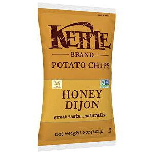ケトルブランドのポテトチップス、ハニーディジョン、5オンス Kettle Brand Potato Chips, Honey Dijon, 5 oz