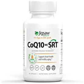 Visit the Jigsaw Health Store Jigsaw Health CoQ10 w/SRT, Sustained Release Technology, 60 Count