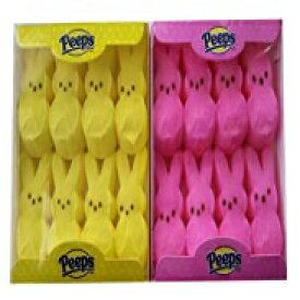 マシュマロの覗き見ピンクと黄色のイースターバニー8 ct(2個パック) Marshmallow Peeps Easter Bunnies Marshmallow Peeps Pink and Yellow Easter Bunnies 8 ct (Pack of 2)