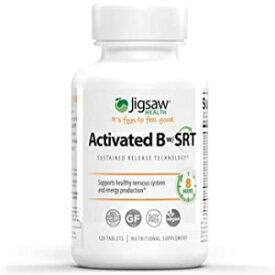 Visit the Jigsaw Health Store Jigsaw Health Activated B Complex w/SRT, 120 Tablets