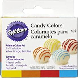 多色、ウィルトンキャンディデコレーションプライマリカラーセット、1オンス Visit the Wilton Store Multicolor, Wilton Candy Decorating Primary Colors Set, 1 oz.