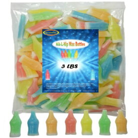 ワックスボトルニックLニップミニドリンク3ポンド Medley Hills Farm Wax Bottles Nik L Nip Mini Drinks 3 Lbs