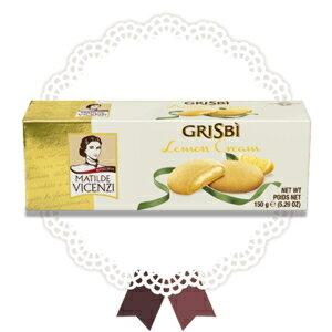 グリビレモンクリームクッキー Grisbi 5.29 Ounce (Pack of 1), lemon, Grisbi Lemon Cream Cookies