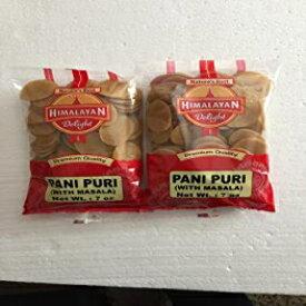 ヒマラヤンディライト調理済みパニプリマサラ添え-7オンス(2パック) Himalayan Delight Ready-to-Cook Pani Puri with Masala - 7 Ounces