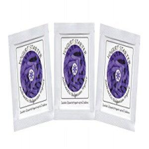 ヨーグルトスターターカルチャー-本物のブルガリアヨーグルト用の3つの凍結乾燥カルチャーサシェのパック Natural Probiotic Selection Yogurt Starter Cultures - Pack of 3 Freeze-dried Culture Sachets for Authentic Bu