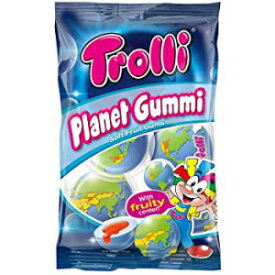 Trolli Planet Gum(75g)2パック-フルーティーなフィリングの発泡シュガーガムドロップ Visit the Trolli Store Trolli Planet Gum (75g) pack of 2 - Foamed Sugar Gumdrops with fruity filling