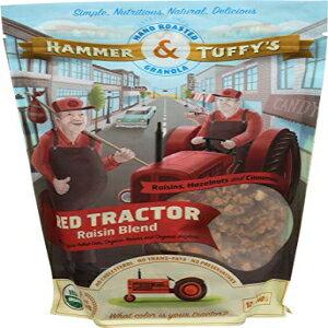 ハンマー&タフィーのハンドローストグラノーラ、レッドトラクターレーズンブレンド、オーガニック、12オンス Hammer & Tuffy's Hand Roasted Granola, Red Tractor Raisin Blend, Organic, 12 oz