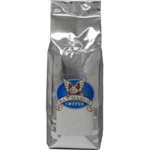 サンマルココーヒーカフェイン抜きフレーバーホールビーンコーヒー、ピーナッツクリーム、1ポンド San Marco Coffee Decaffeinated Flavored Whole Bean Coffee, Peanut Cream, 1 Pound