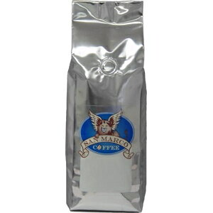 サンマルココーヒーカフェイン抜き風味のホールビーンコーヒー、ストロベリーウェーブチーズケーキ、1ポンド San Marco Coffee Decaffeinated Flavored Whole Bean Coffee, Strawberry Wave Cheesecake, 1 Pound