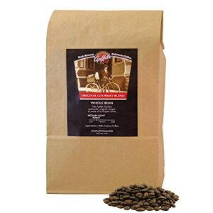 Apffelsオリジナルグルメブレンド挽いたコーヒー-100%アラビカ全コーヒー豆ミディアムロースト-フレーバークラシックスムーステクスチャー-USDA承認-2ポンドパック Apffels Original Gourmet Blend Grou