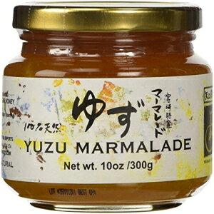 八神果樹園日本柚子マーマレード300グラムジャー(2パック) Yakami Orchard Japanese Yuzu Marmalade 300 gram jar (Pack of 2)