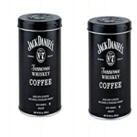 ジャックダニエルのテネシーウイスキー挽いたコーヒー(8.8オンス)〜2パック Jack Daniel's Tennessee Whiskey Ground Coffee (8.8oz) ~ 2 pack
