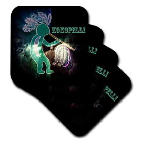 3dRose Kokopelli is an image I created using my computer and digital art - Soft Coasters, set of 4