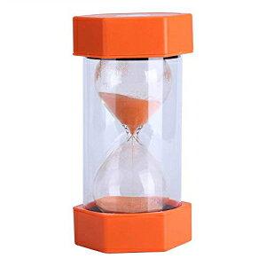 Fdit砂時計サンドタイマー3/10/20/30/60分タイマーセットサンドグラスタイマーロマンチックなホームオフィスの装飾(20分オレンジ) Fdit Hourglass Sand Timer 3/10/20/30/60 Minutes Timer Set Sandglass Timer Romant