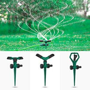 DTNO.I芝生スプリンクラー、3パック自動360°回転芝生スプリンクラー芝生、保育園および草の灌漑用の調整可能な散水システム、キッズプレイタイム用のリークデザインのガーデンウォーター