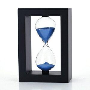 ウッドフレーム砂時計サンドタイマー20分 Gorgeousstyles Wood Frame Hourglass Sand Timer 20 Minutes