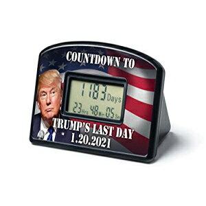 BigMouthIncカウントダウン時計とタイマー-トランプの最終日1-20-21 BigMouth Inc Countdown Clock & Timer - Trump's Last Day 1-20-21