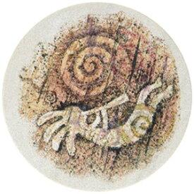 喉石石防天然石の様式化されたココペリコースター、マルチカラー Thirstystone Stoneware Stylized Kokopelli Coaster, Multicolor