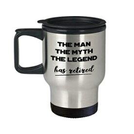 The Man The Myth The Legend has Retired Travel Mug-Retirement Gifts-Novelty Birthday Gift Idea SpreadPassion The Man The Myth The Legend has Retired Travel Mug - Retirement Gifts - Novelty Birthday Gift Idea