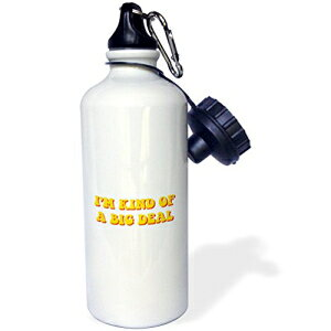 3dRose wb_17288_1フェレットイーティングカップケーキスポーツウォーターボトル、21オンス、ホワイト 3dRose wb_17288_1 Ferret Eating Cupcake Sports Water Bottle, 21 oz, White