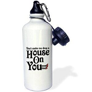 3dRose wb_159620_1落ち着いて、カップケーキを焼くスポーツウォーターボトル、21オンス、ホワイト 3dRose wb_159620_1 Keep Calm and Bake Cupcakes Sports Water Bottle, 21 oz, White