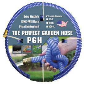 """タフガードパーフェクトガーデンホース、キンクプルーフガーデンホースアセンブリ、ブルー、5/8 """"オスxメスGHT接続、5/8"""" ID、25フィート長 Tuff-Guard The Perfect Garden Hose, Kink Proof Garden Hose Assembly, Blue, 5/8"""" Male x Female GHT C"""