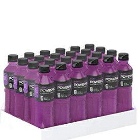 パワーエイド、ビタミンを含む電解質強化スポーツドリンク、ブドウ、20液量オンス、24パック POWERADE, Electrolyte Enhanced Sports Drinks w/ vitamins, Grape, 20 fl oz, 24 Pack